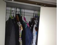 Closet sneak peek
