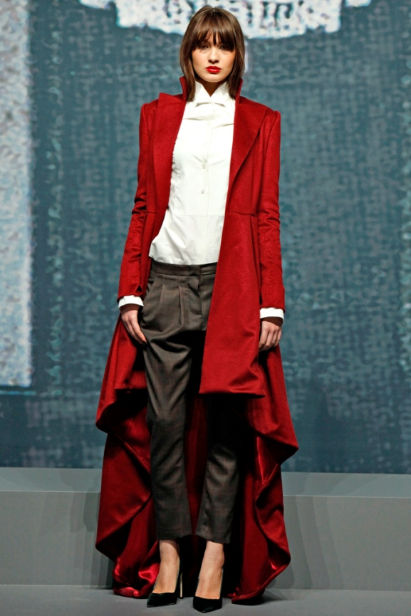 The red coat of a lifetime